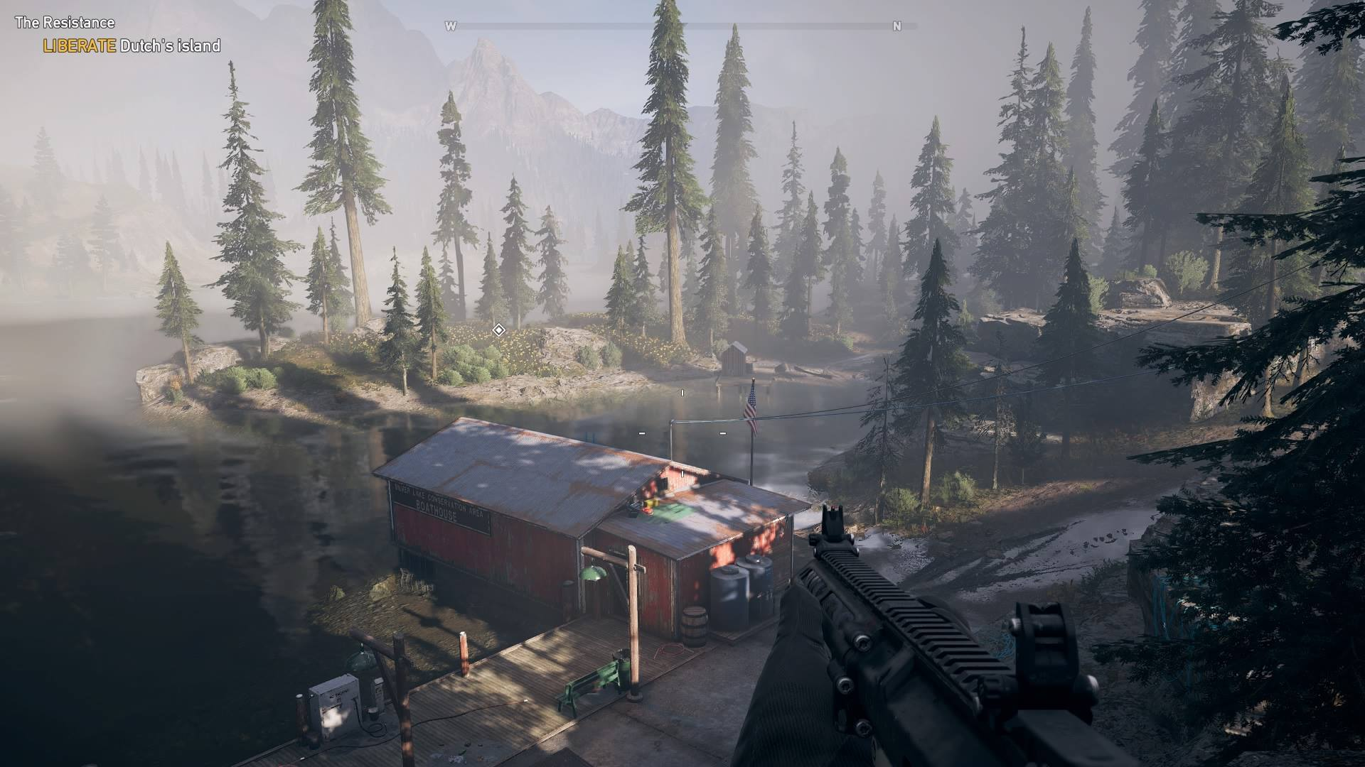how to get into boathouse far cry 5