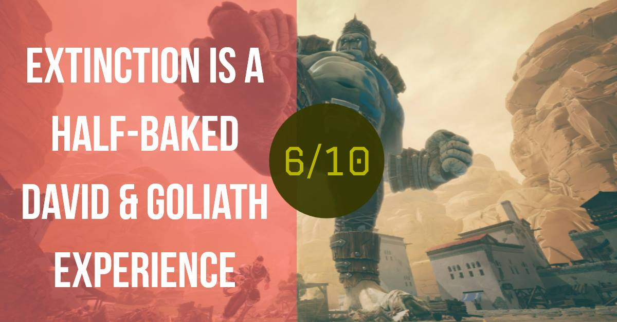 Extinction Review (PS4) :: All That Glitters Is Not Gold