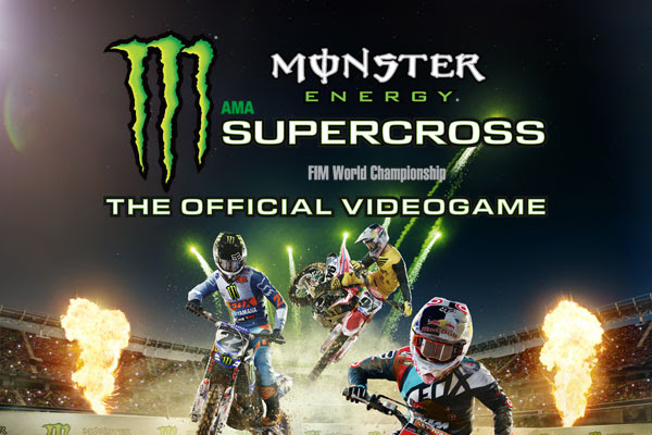 THE COMPOUND NOW AVAILABLE IN MONSTER ENERGY SUPERCROSS