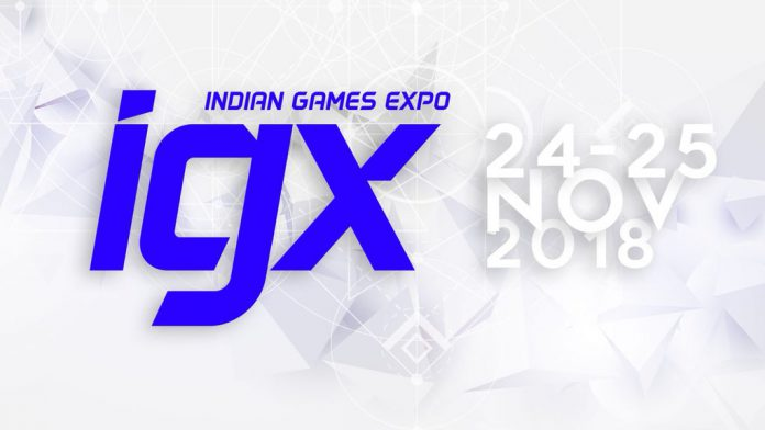 Indian Games Expo IGX 2018
