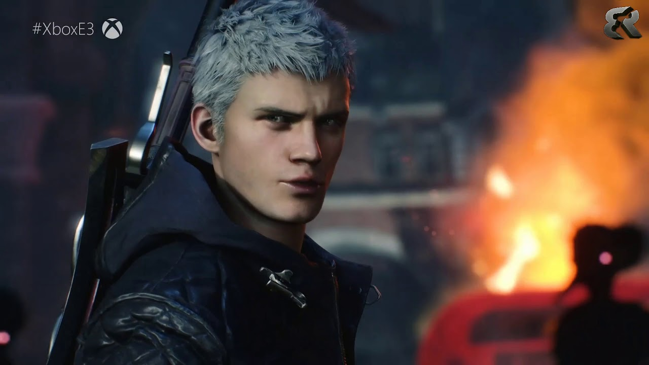 Devil May Cry 5 gives Dante a robot arm and white hair