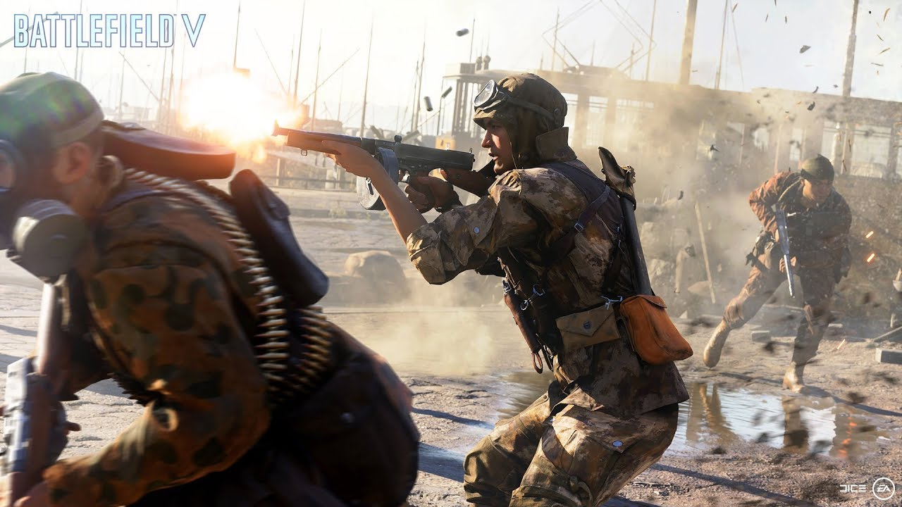 Battlefield V Gamescom Trailer Features An Outrageous Amount of Explosions and Destruction