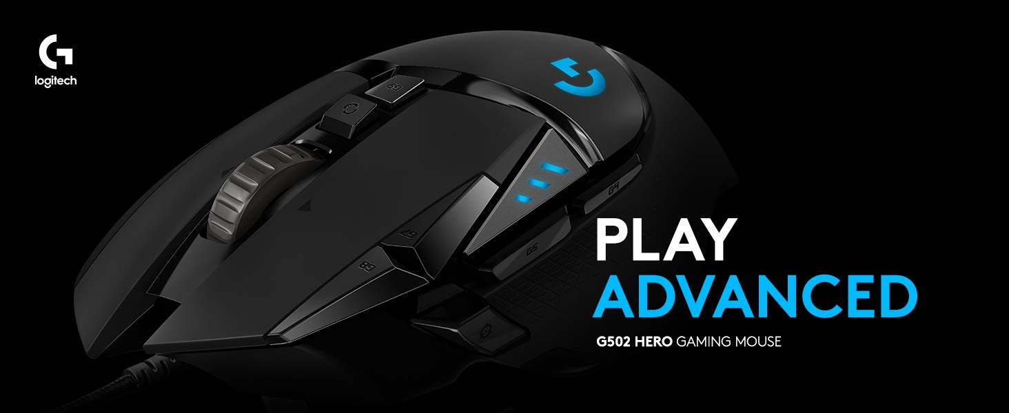 Logitech G502 HERO Gaming Mouse Launched in India - IndianNoob