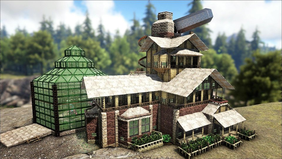 The ARK : Survival Evolved Homestead Update is Here - IndianNoob
