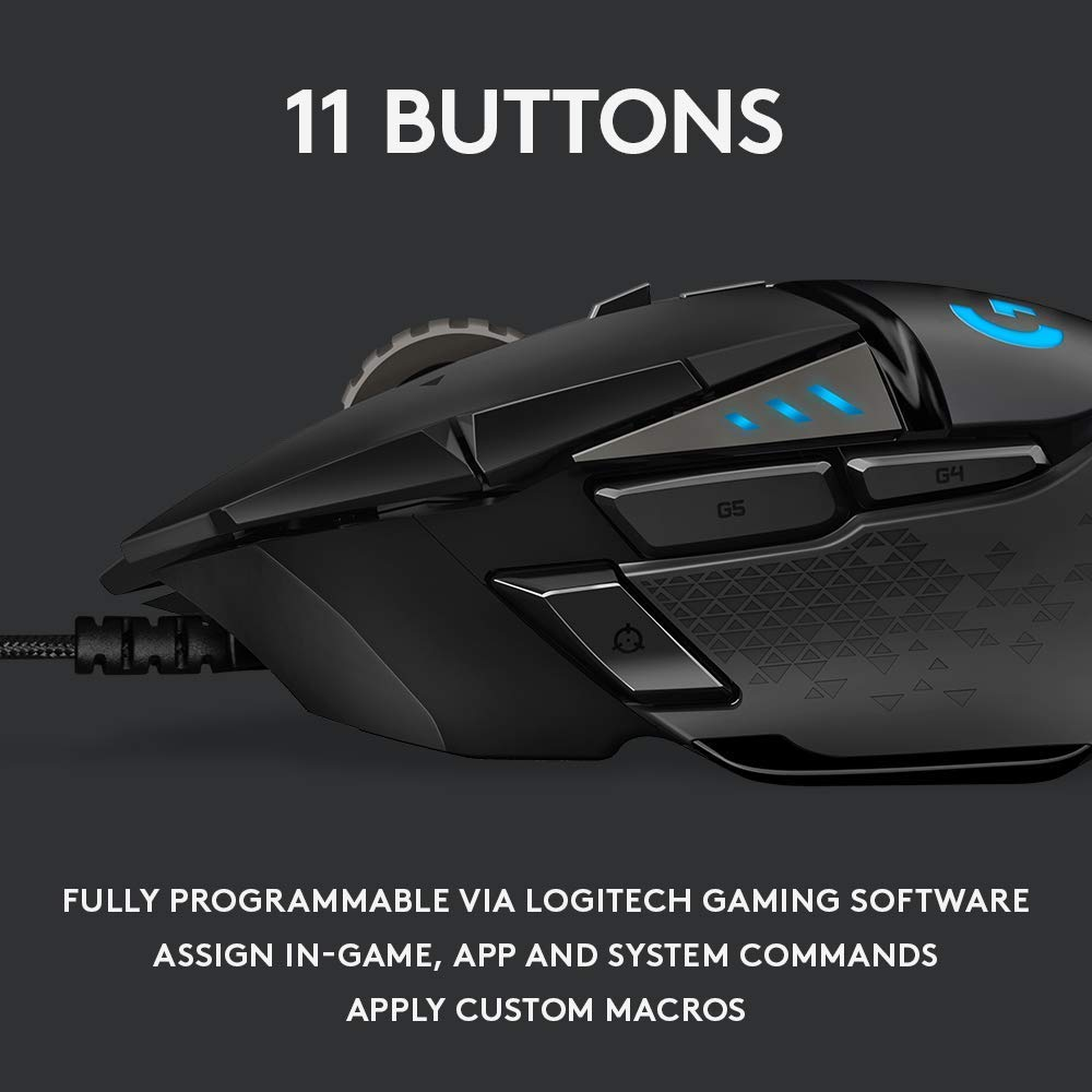 Logitech G502 Hero Review :: Carrying the Legacy Forward