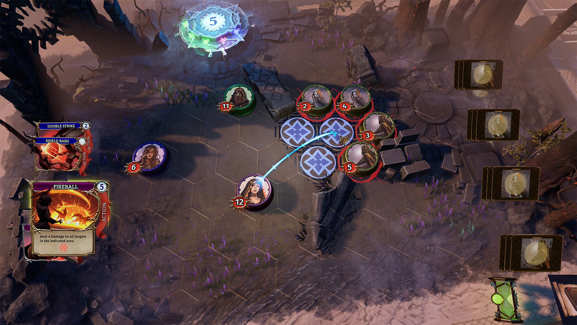 Trials of Fire', the turn-based strategy game by ex