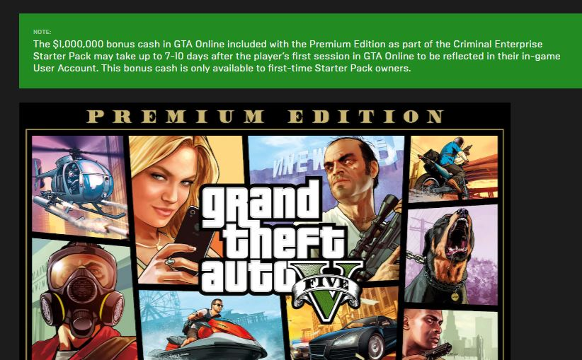 Grand Theft Auto V Now Free On Epic Games Store